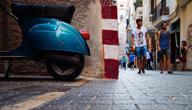 Palma Mallorca - Scooter - Raúl González