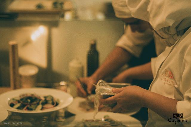cooking - Michelle DelaVega