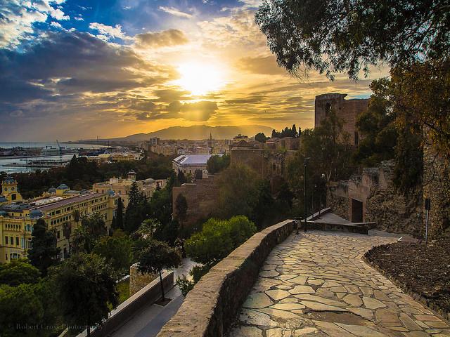 Málaga (Castillo) - Robert Cross